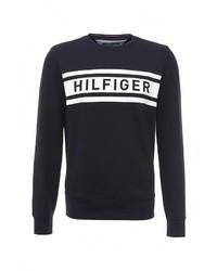 Мужской темно-синий свитер с круглым вырезом от Tommy Hilfiger