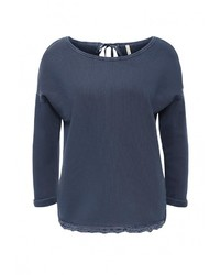 Женский темно-синий свитер с круглым вырезом от United Colors of Benetton
