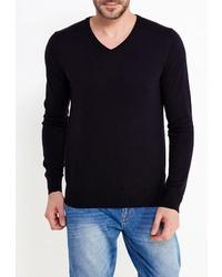 Мужской темно-синий свитер с v-образным вырезом от Colin's