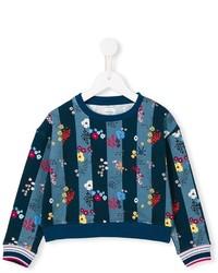 Детский темно-синий свитер для мальчику от No Added Sugar