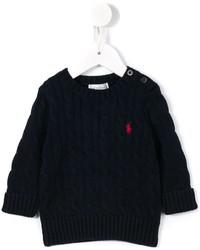 Детский темно-синий свитер для мальчику от Ralph Lauren