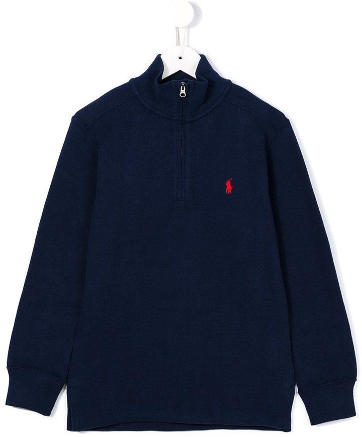 Детский темно-синий свитер для мальчиков от Ralph Lauren
