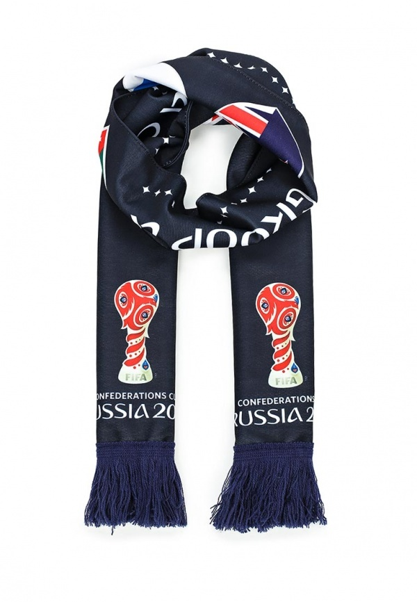 Мужской темно-синий шарф от adidas Performance