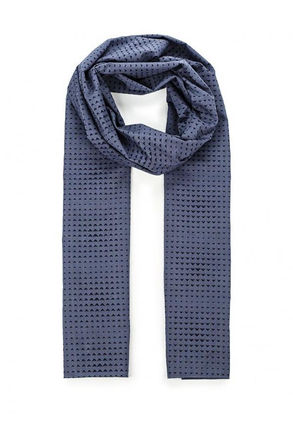 Мужской темно-синий шарф от Armani Jeans   Где купить и с чем носить 53338cbc94a