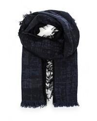 Мужской темно-синий шарф от Boss Orange