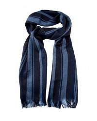 Мужской темно-синий шарф от GREG