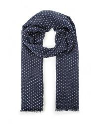 Мужской темно-синий шарф от Mango Man