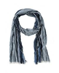 Мужской темно-синий шарф от s.Oliver