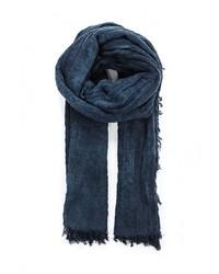Мужской темно-синий шарф от United Colors of Benetton