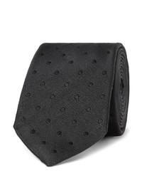 Мужской темно-синий шелковый галстук от Dolce & Gabbana