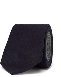Мужской темно-синий шерстяной галстук от Brunello Cucinelli