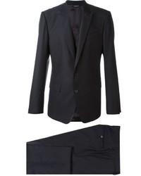 Темно-синий шерстяной костюм от Dolce & Gabbana