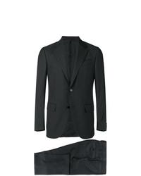 Мужской темно-синий шерстяной пиджак от Ermenegildo Zegna