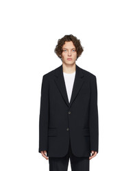 Мужской темно-синий шерстяной пиджак от Joseph