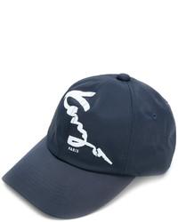 Мужская темно-синяя бейсболка от Kenzo