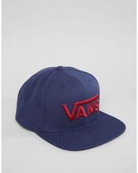 Мужская темно-синяя бейсболка от Vans