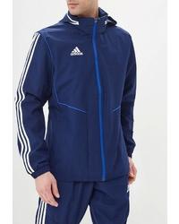 Мужская темно-синяя ветровка от adidas
