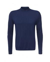 Мужская темно-синяя водолазка от Burton Menswear London