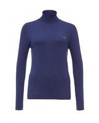 Женская темно-синяя водолазка от Lacoste