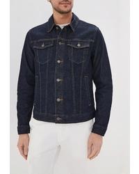 Мужская темно-синяя джинсовая куртка от Banana Republic