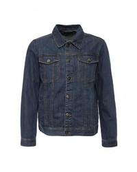 Мужская темно-синяя джинсовая куртка от Baon