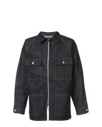 Мужская темно-синяя джинсовая куртка от Fear Of God
