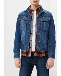 Мужская темно-синяя джинсовая куртка от Lee