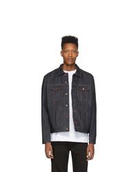 Мужская темно-синяя джинсовая куртка от Nudie Jeans
