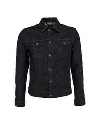 Мужская темно-синяя джинсовая куртка от Only & Sons