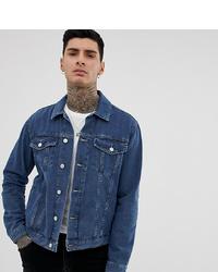 Мужская темно-синяя джинсовая куртка от Reclaimed Vintage