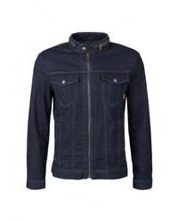 Мужская темно-синяя джинсовая куртка от s.Oliver