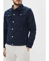 Мужская темно-синяя джинсовая куртка от SPRINGFIELD
