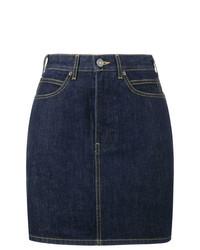 Темно-синяя джинсовая мини-юбка от Calvin Klein 205W39nyc