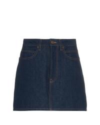 Темно-синяя джинсовая мини-юбка от Calvin Klein Jeans Est. 1978