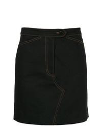 Темно-синяя джинсовая мини-юбка от Zambesi
