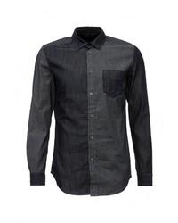 Мужская темно-синяя джинсовая рубашка от Diesel