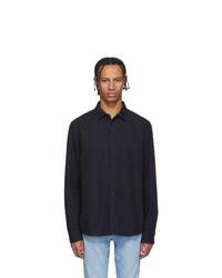 Мужская темно-синяя джинсовая рубашка от Frame