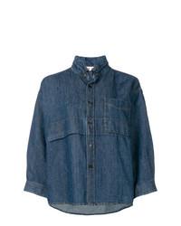 Женская темно-синяя джинсовая рубашка от Marni