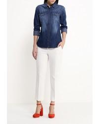 529a2ca2b0f81d6 Женская темно-синяя джинсовая рубашка от Mavi, 3 770 руб. | Lamoda ...