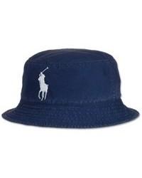 Темно-синяя джинсовая шляпа