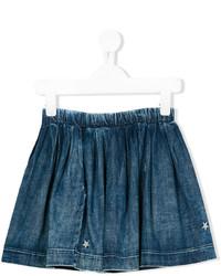 Детская темно-синяя джинсовая юбка для девочке от Diesel