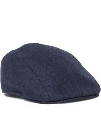 Мужская темно-синяя кепка от Brunello Cucinelli