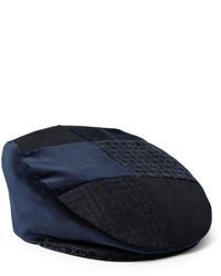 Мужская темно-синяя кепка от Etro