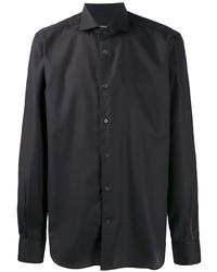Мужская темно-синяя классическая рубашка от Corneliani