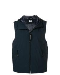Мужская темно-синяя куртка без рукавов от CP Company
