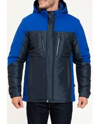 Мужская темно-синяя куртка-пуховик от Amimoda