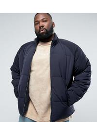 Мужская темно-синяя куртка-пуховик от Asos