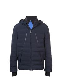 Мужская темно-синяя куртка-пуховик от Aztech Mountain