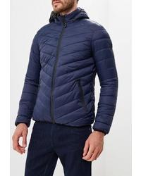 Мужская темно-синяя куртка-пуховик от Colin's
