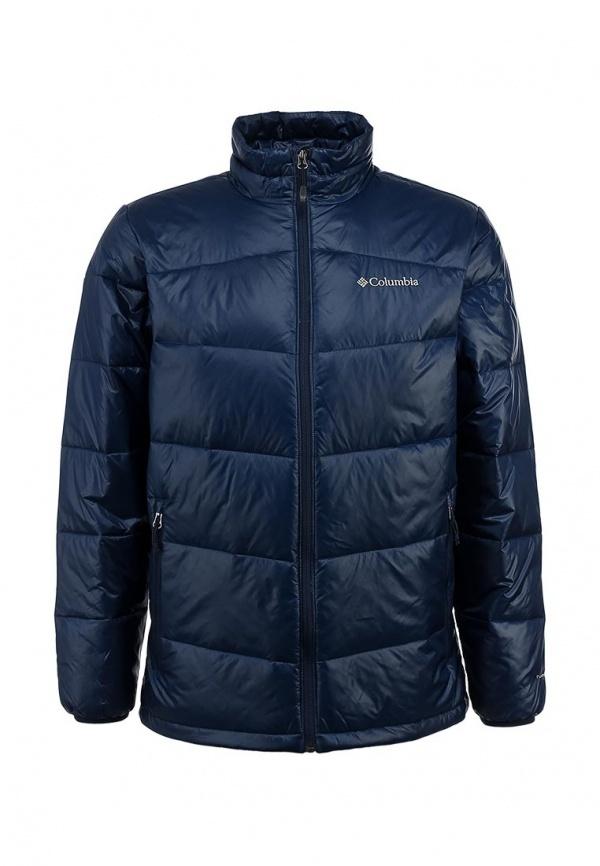 Мужская темно-синяя куртка-пуховик от Columbia